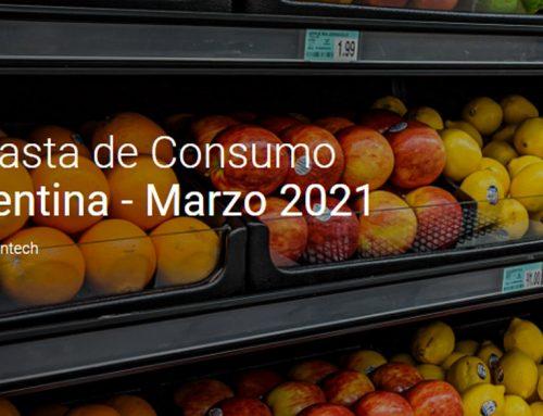 📈 MERCADOS Informe SCANNTECH – Canasta de consumo Marzo 2021
