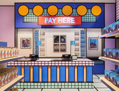 """🌐TENDENCIAS GLOBALES """"La creatividad es esencial"""": un supermercado diseñado por artistas abrió en Londres"""